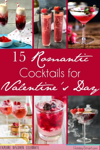 15 Romantic Cocktails For Valentine S Day Holidaysmart
