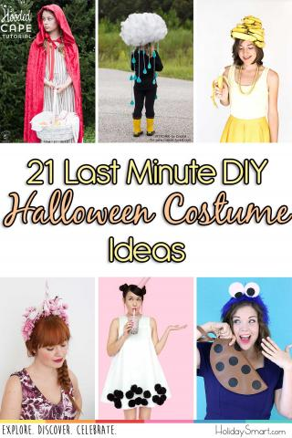 21 Last Minute Diy Halloween Costume Ideas Holidaysmart