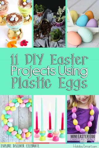 11 Diy Easter Projects Using Plastic Eggs Holidaysmart