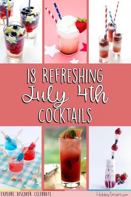 18 Refreshing July 4th Cocktails